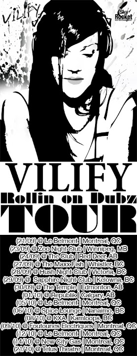 DJ VILIFY Rollin' on Dubz Tour 2011