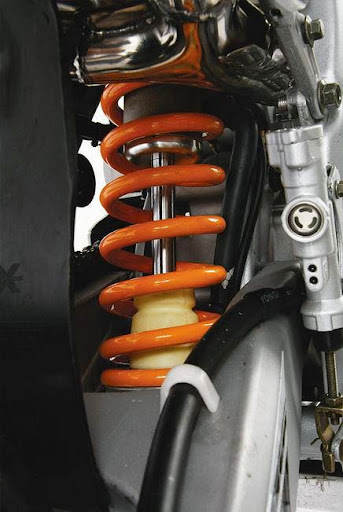 250cc XZR Dirt BikeRear Shock