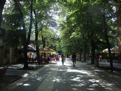 Центральная улица в Сокобане