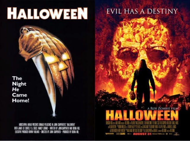 Side By Side: HALLOWEEN (1978) vs. HALLOWEEN (2007) | Merc With A ...