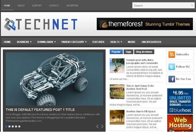 TechNet Blogger Template