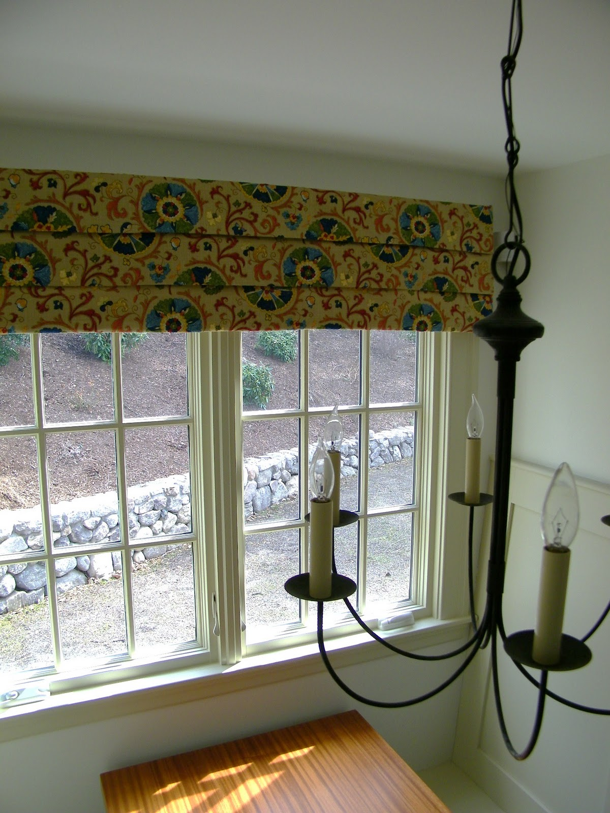Maison Decor Mock Roman Shade