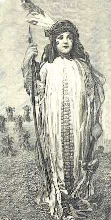 Goddess Corn Mother Image
