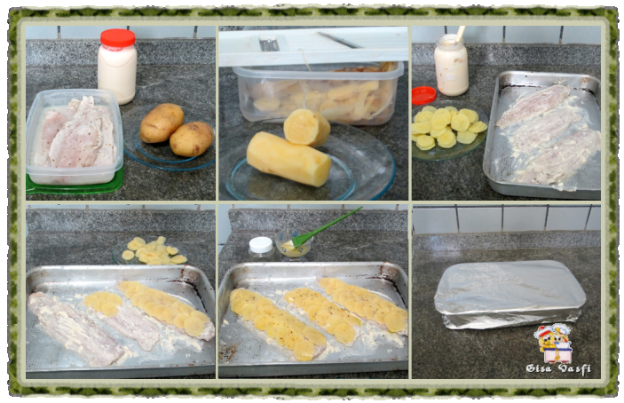Peixe com escamas de batata 2