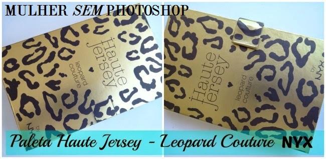 Paleta NYX Haute Jersey Leopard Couture