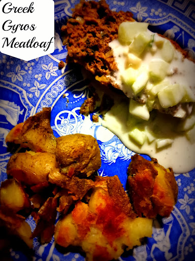 International Flavors: Greek Gyros Meatloaf #Recipe