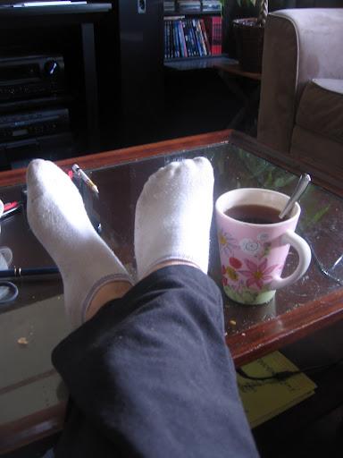 soft paints and tea