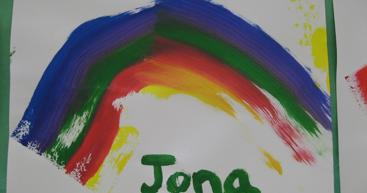 Strongstart Rainbow Sponge Painting