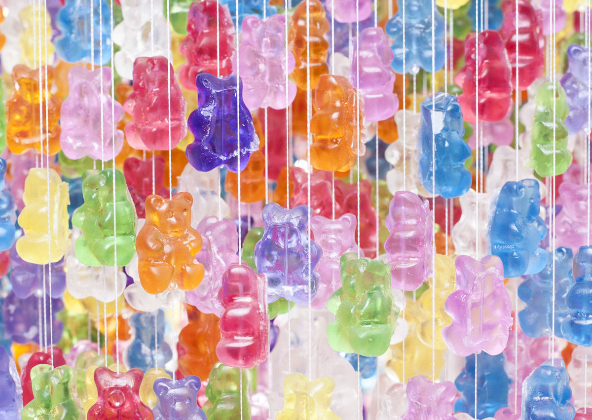 *Kevin Champeny:Gummy Bears Chandelier 小熊軟糖吊燈 2