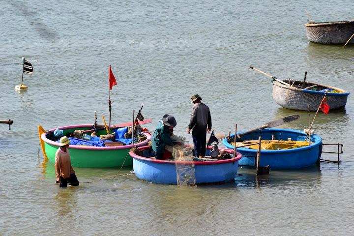 В Муйне рыбацкая гавань