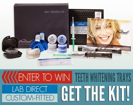 Smile Brilliant! Professional Teeth Whitening System Giveaway