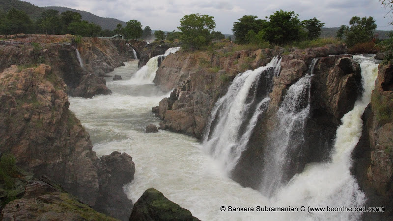Tumbling from all corners - Hogenakkal Falls