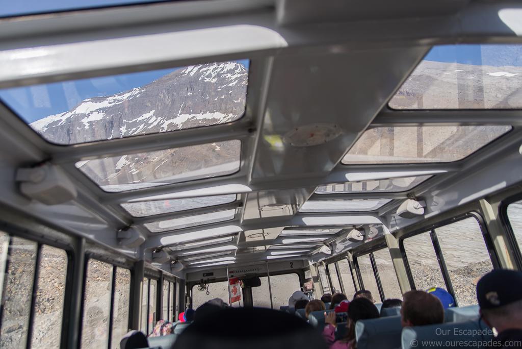 Inside the Ice Explorer