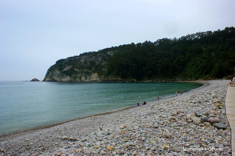 La Concha de Artedo, Playa
