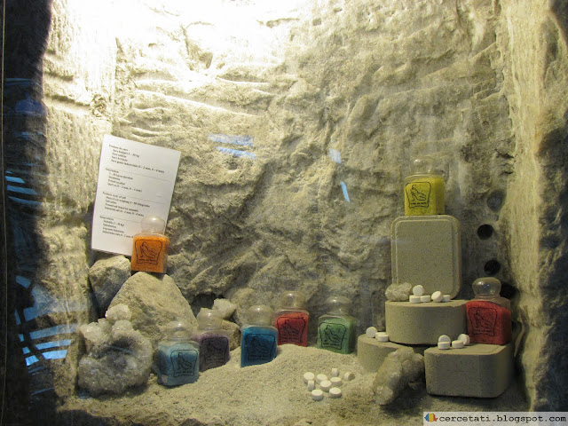 Products made from salt extracted from mine