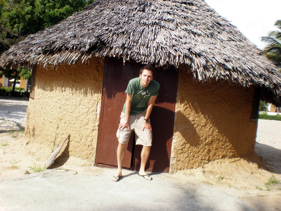 My £7 per night banda(hut) in Bagamoyo