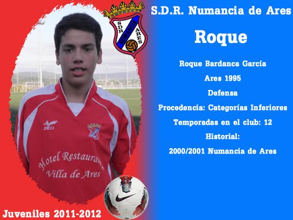 ADR Numancia de Ares. Xuvenís 2011-2012. ROQUE.