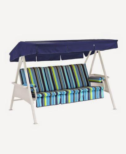 gelb Sitzbank Sitzkissen Gartenmöbel Auflage für Gartenbank 130 cm blau