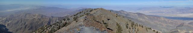 north along the Panamint Range