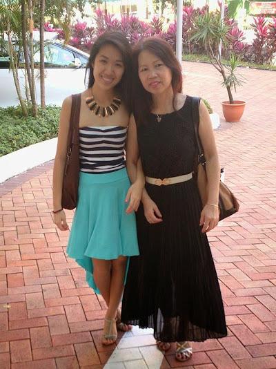 Love my mum's dress