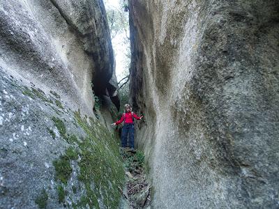 Escletxa a la roca