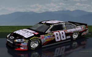 Dale Earnhardt Jr National Guard Camo Scenic Wallpaper