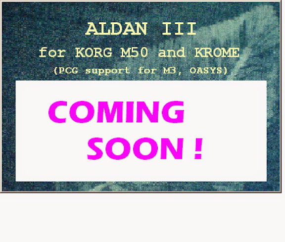 Korg Forums :: View topic - Aldan III, to be continued