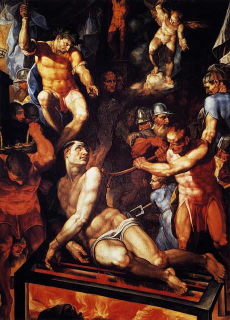 Pellegrino Tibaldi - Martyrdom of St Lawrence