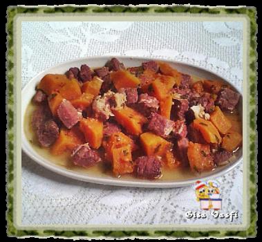 Carne seca com abóbora 1