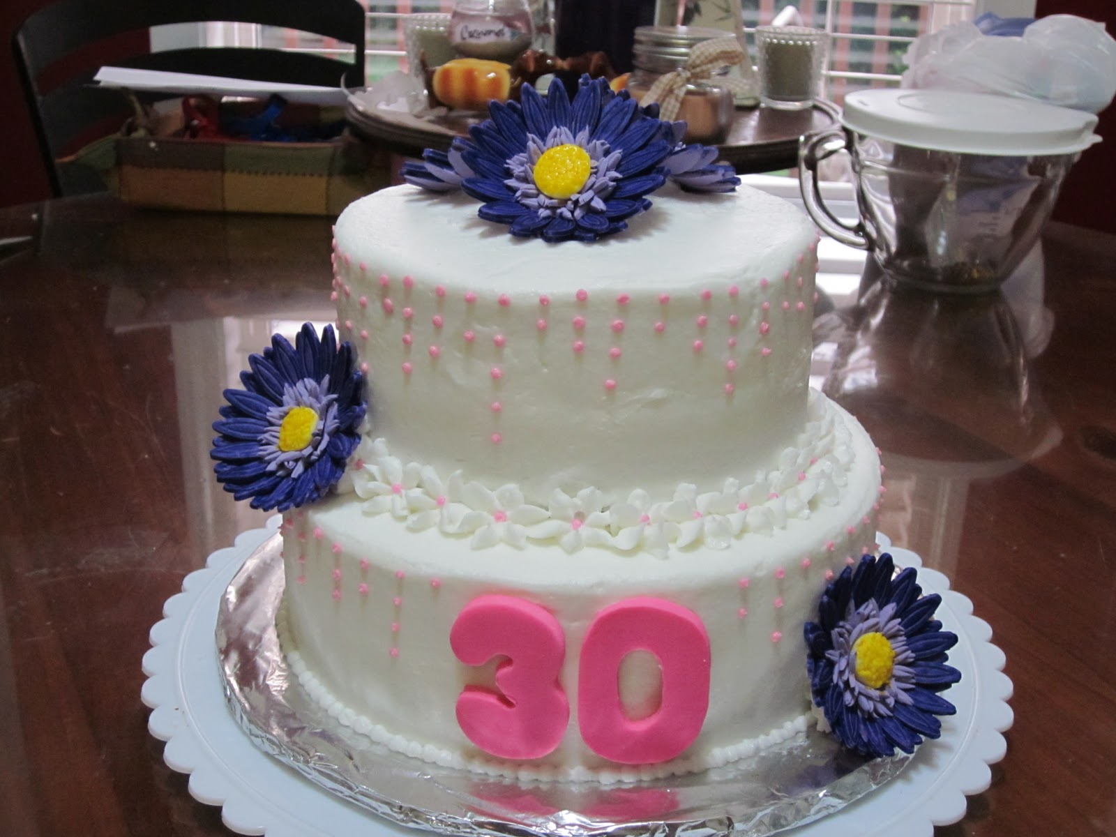 A Southern Confectional Gerber Daisies Cake Love