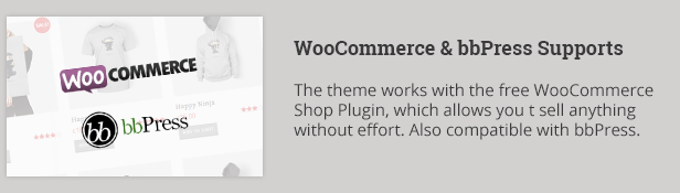 WooCommerce and bbPress Supports