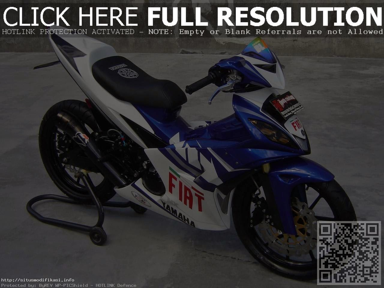 Modifikasi Yamaha Jupiter Mx Airbrush