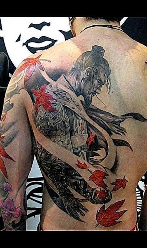 44 Unique Samurai Tattoo
