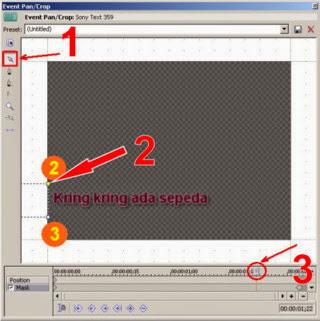 Cara menambahkan teks pada video menggunakan Sony Vegas