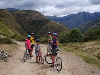 Bicicleta de montaña en Imbabura