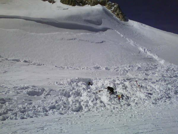 Avalanche Vanoise, secteur Grande Motte - Photo 1
