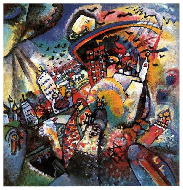 Wassily Kandinsky – Moscow I, 1916