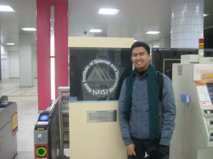 Juan Paolo Bermundo at NAIST