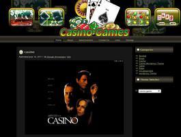 Casino Game wordpress Theme