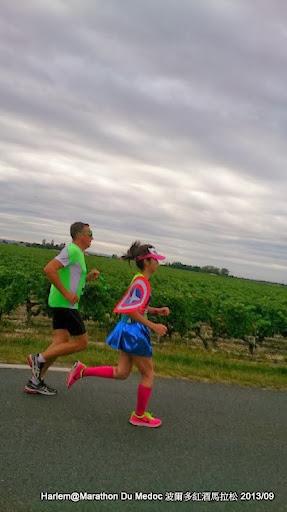 美國女隊長 法國波爾多紅酒馬拉松 Marathon du Médoc