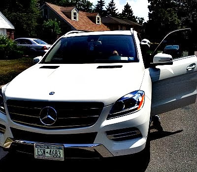 Mercedes Benz ML350 white