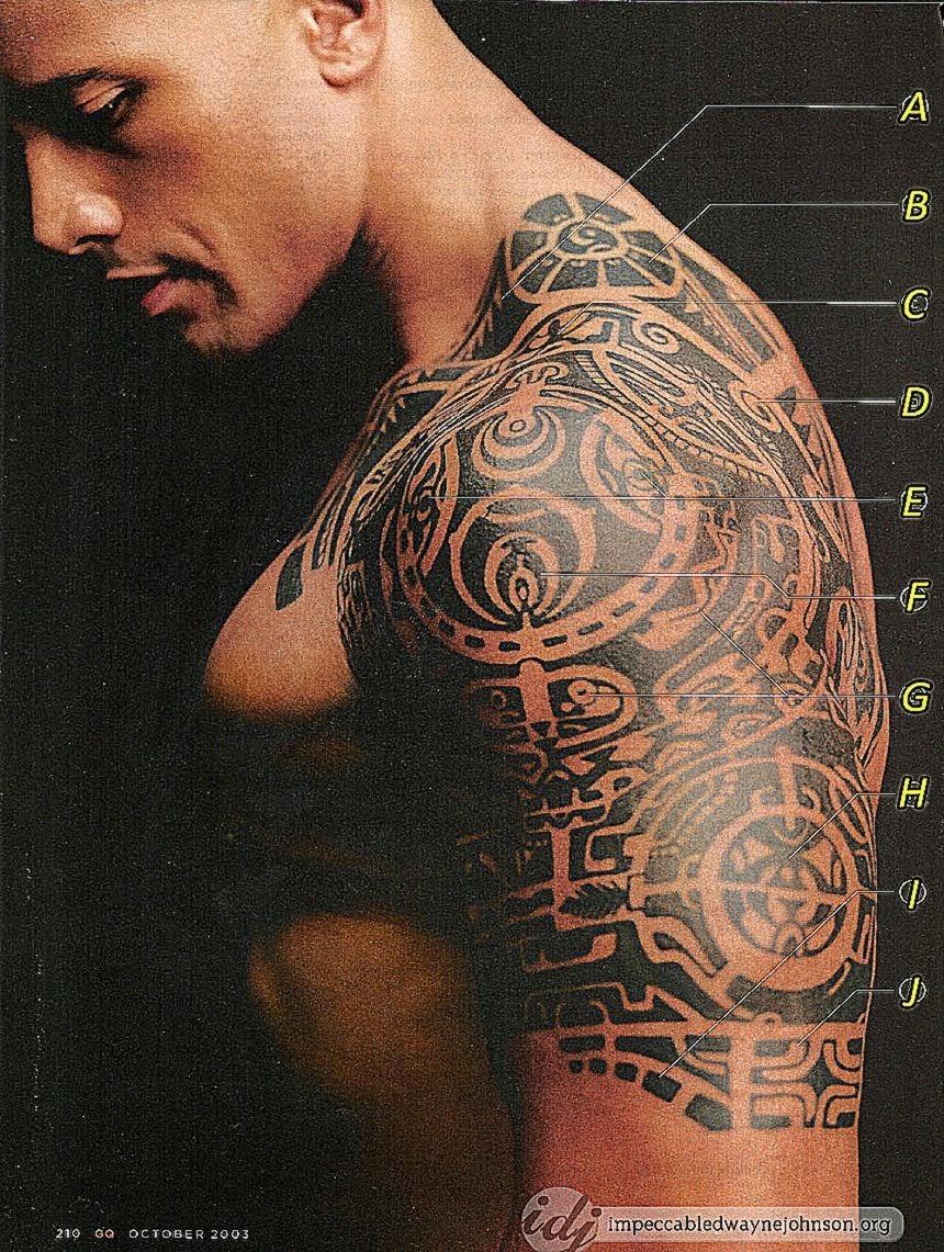 Dwayne39s Tattoos Impeccable Dwayne  – Dwayne Johnson