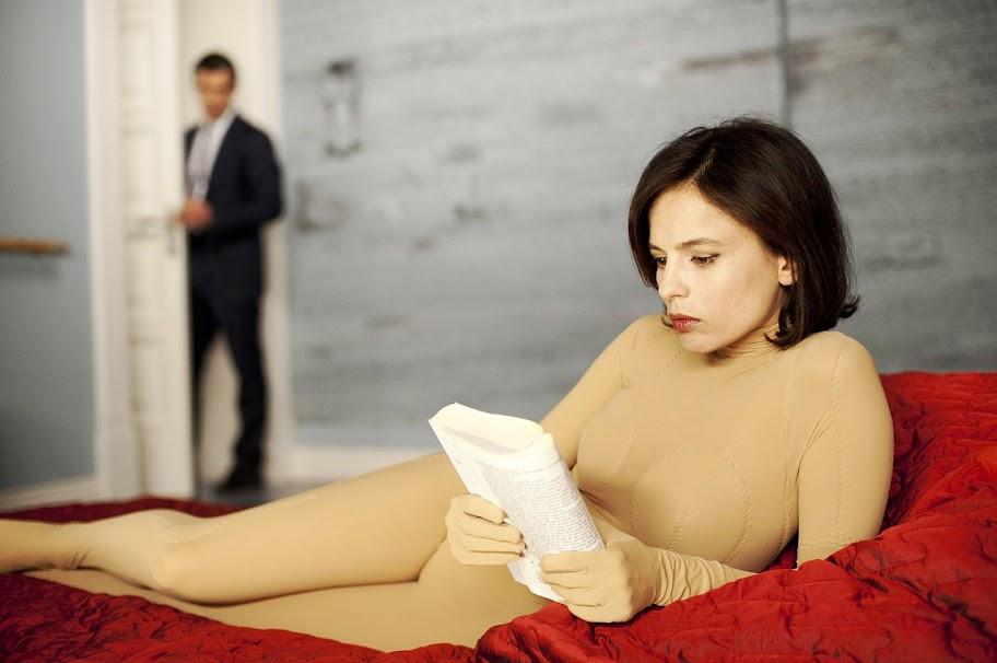 Antonio Banderas stars as Robert Ledgard and Elena Anaya stars as Vera in The Skin I Live In