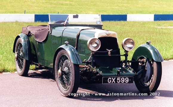 Aston Martin LM3, 1929 г.