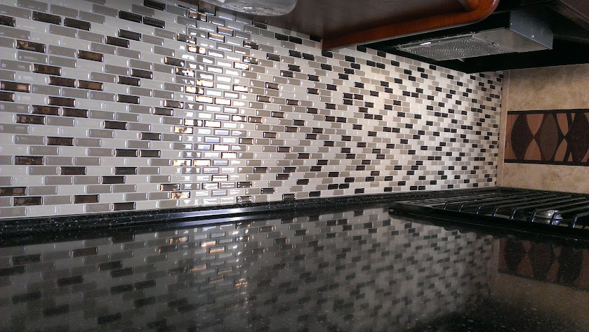 Rv Net Open Roads Forum Self Adhesive Kitchen Tile Mod 2013