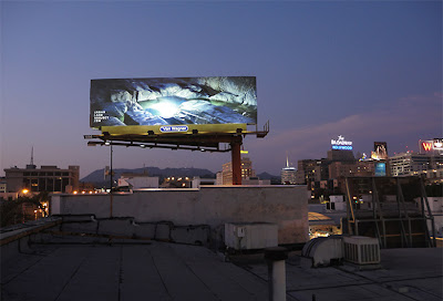 Nature billboard by Tim Simmons