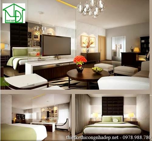 Nội thất phòng khách được thiết kế với phong cách hiện đại