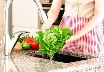 วิธีล้างผัก, วิธีล้างผลไม้, การล้างผัก, การล้างผลไม้