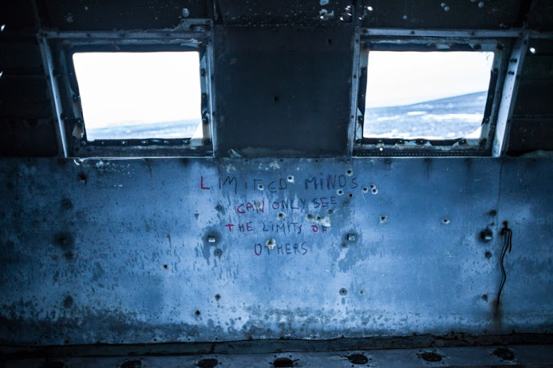 Inside Iceland's Downed DC-3 by Cole Rise