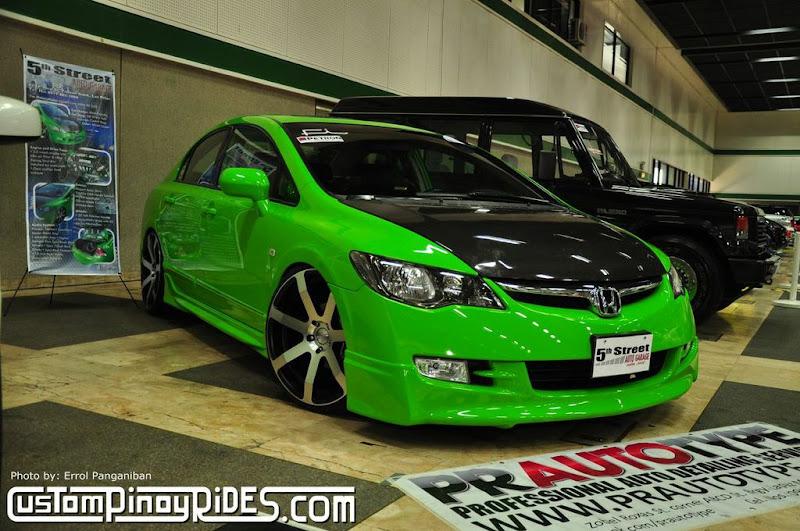 Honda S2000 Philippines >> Junbie Pajarillo's Stanced Green Honda Civic FD | CustomPinoyRides.com - Pinoy Pride In Our Rides!